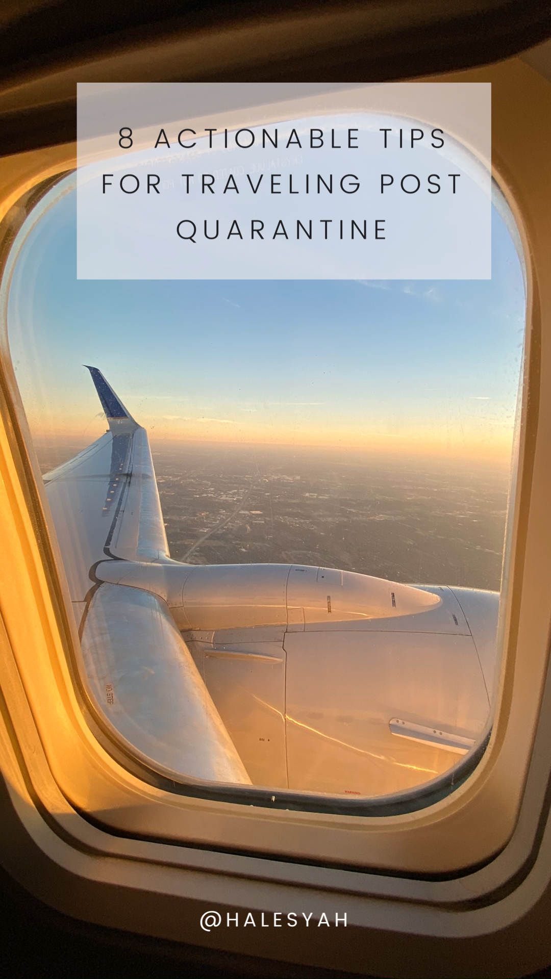 8 Actionable Tips for Traveling Post Quarantine