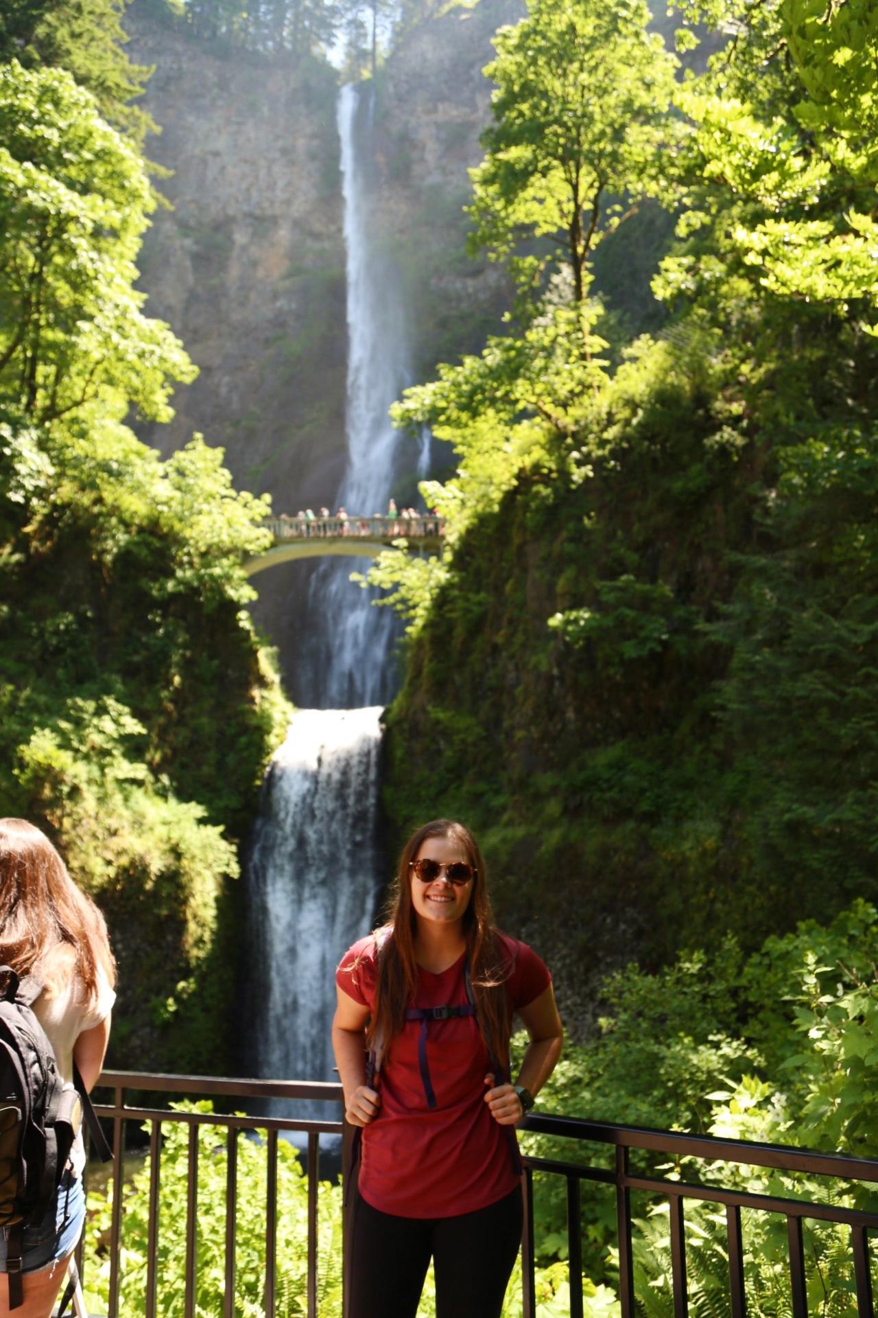 The Ultimate Extended Weekend in Portland, Oregon - Multnomah Falls