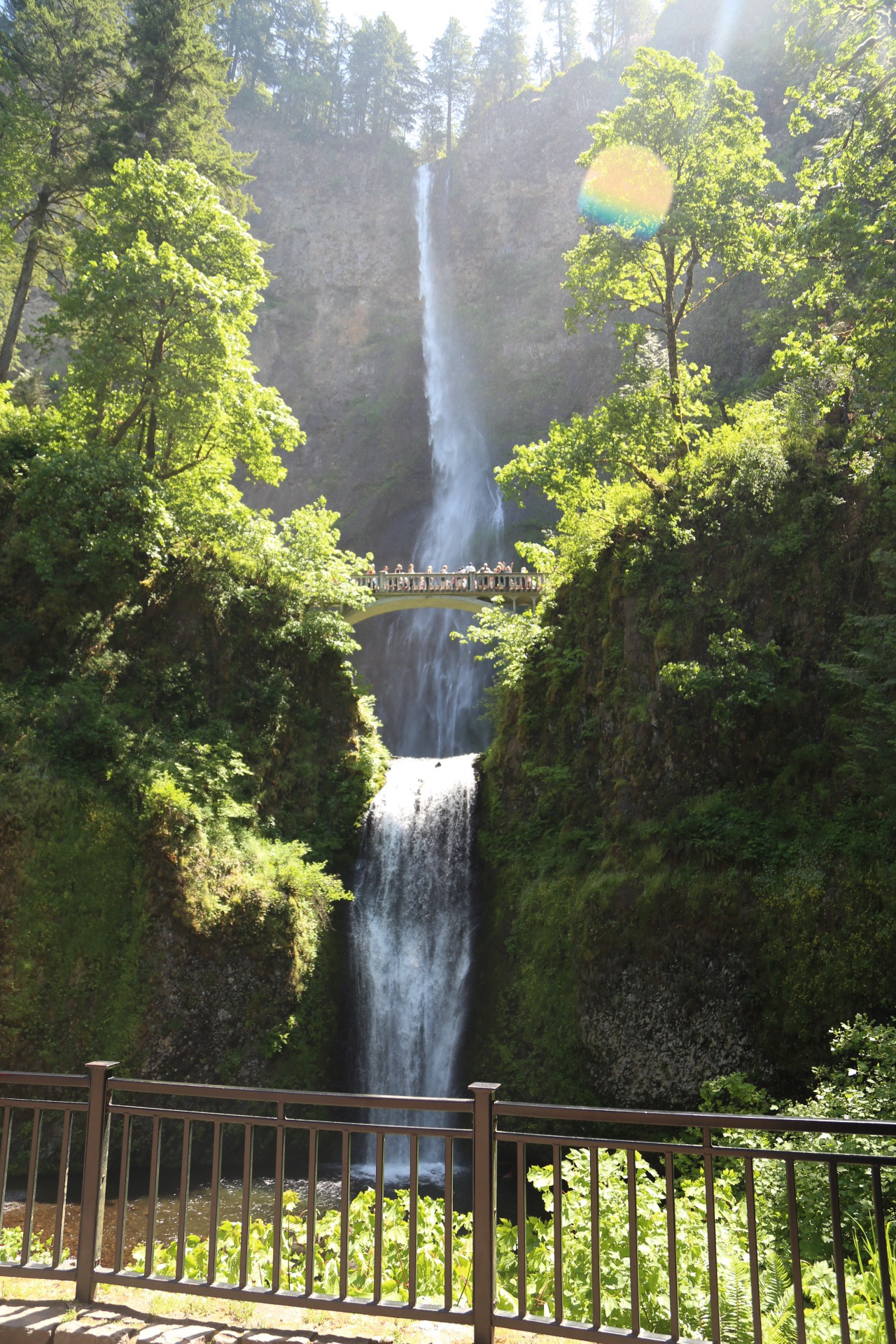 The Ultimate Extended Weekend in Portland, Oregon - Multnomah Falls