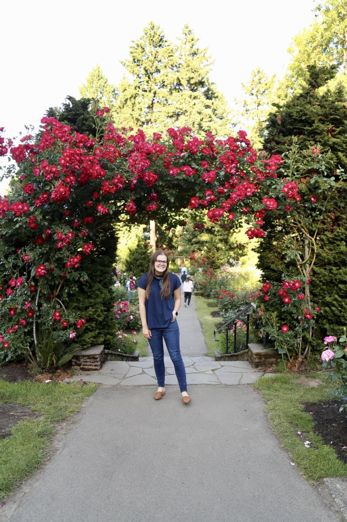 The Ultimate Extended Weekend in Portland, Oregon - International Rose Test Garden