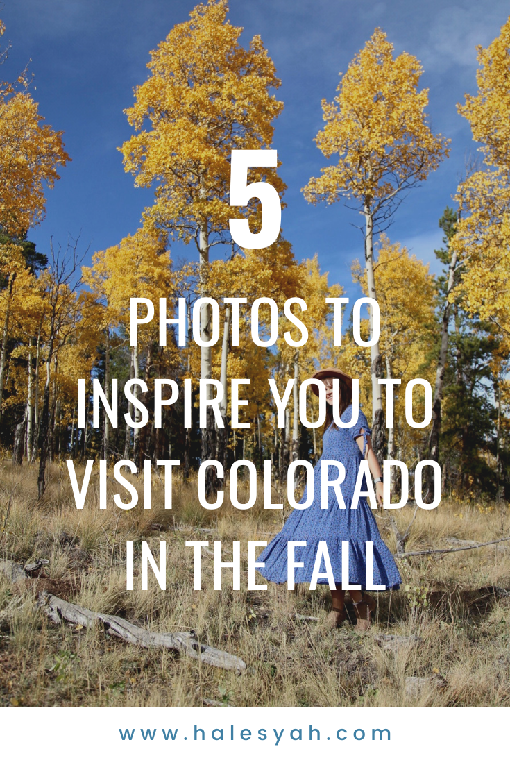 5 Photos to Inspire You to Visit Colorado in the Fall
